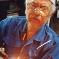 町工場職人をとらえた写真「火花の奥に」