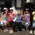 近所の小学生のたんけん(工場しらべ)学習でお礼のお手紙をいただきました